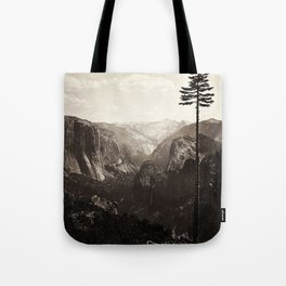 Vintage Yosemite Valley, California, ca. 1865 Tote Bag