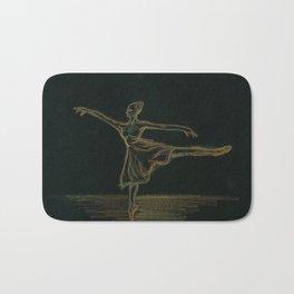 The ballerina Bath Mat