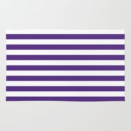 Purple and white university clemson alumni team sports football college Rug