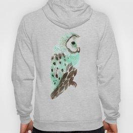 Watercolour Owl Hoody