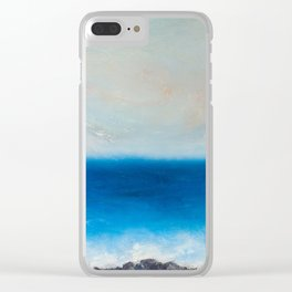 Speed Days Clear iPhone Case