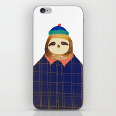 Hipster Sloths be like. iPhone & iPod Skin
