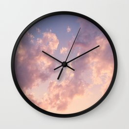 Skies Wall Clock
