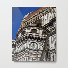 Tuscan Domes Metal Print