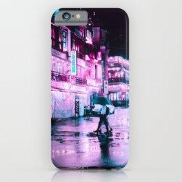 Cyberpunk Seoul iPhone Case