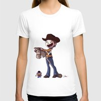 toy story T-shirts featuring Woody Toy Story by Kaori