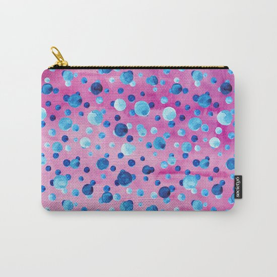 Polka Dot Pattern 06 Carry-All Pouch