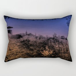 Night's Descent Rectangular Pillow