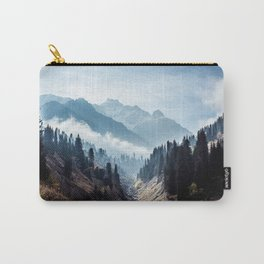 VALLEY - MOUNTAINS - TREES - RIVER - PHOTOGRAPHY - LANDSCAPE Carry-All Pouch