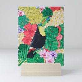 Luis the Tucan Mini Art Print