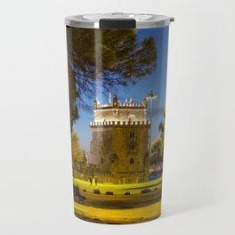 Belem Tower Lisbon Travel Mug