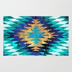 Inverted Navajo Suns Rug