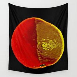 The Legendary Orange Wall Tapestry