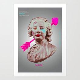 Pop-Revolution Courtier Art Print