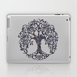Tree of Life Silver Laptop & iPad Skin