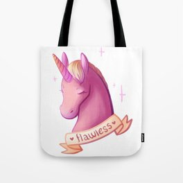 Flawless Unicorn Tote Bag