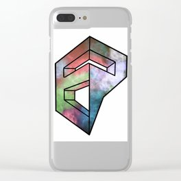 Endless Possibilities Nebula Clear iPhone Case