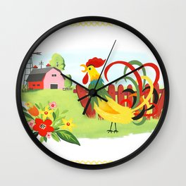 Oh What A Beautiful Morning Wall Clock
