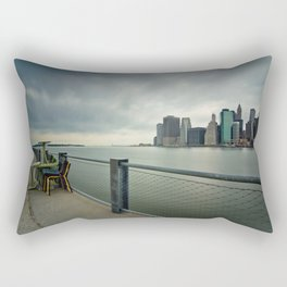 Chairman of New York Rectangular Pillow