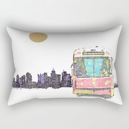 505 Street car Rectangular Pillow
