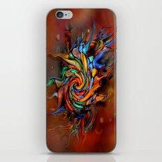 Abstract wash iPhone & iPod Skin