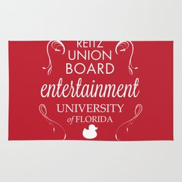 Reitz Union Board Entertainment at the University of Florida Rug