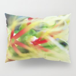 Floral beauty magnified - one Pillow Sham
