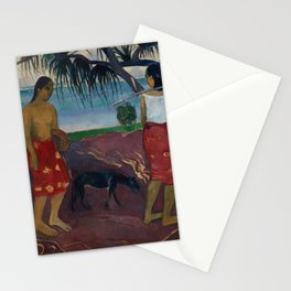 Under the Pandanus Stationery Cards