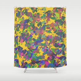 Beat Frustration Shower Curtain