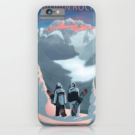 Snow Board Therapy iPhone Case