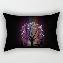 Butterfly Tree Rectangular Pillow