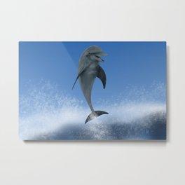 Surfin' Dude Metal Print