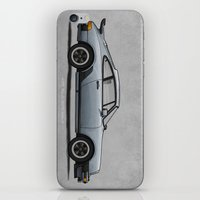 1975 iPhone & iPod Skins featuring 1975 Porsche 911 Turbo by Andy McDonnell