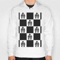 chess Hoodies featuring Panda Chess by Panda Cool