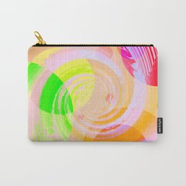 Re-Created Twisters No. 9 by Robert S. Lee Carry-All Pouch