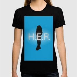 H.E.R. Music Singer Best Part Album Merch T-shirt