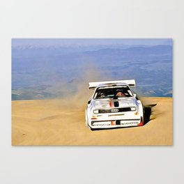 Walter Röhrl Pikes Peak Canvas Print