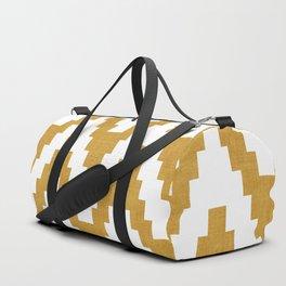 Twine in Yellow Duffle Bag