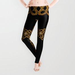 Celtic cross Leggings
