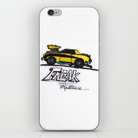 returns iPhone & iPod Skins featuring Freak! Returns by Johnny M.