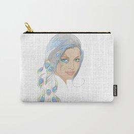 Peacock Rai Carry-All Pouch