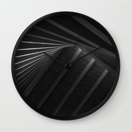 Architecture Geometry - Design Museum Wall Clock