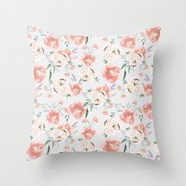 sweet peach Throw Pillow