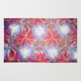 Kaleidoscope flower Rug