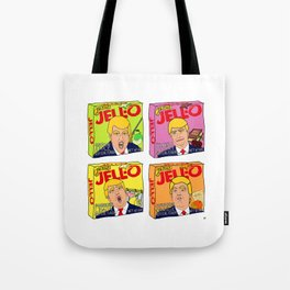 Trump Jell-O Art Tote Bag