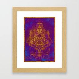 Monkey King (Stoned Ape) Framed Art Print