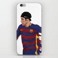 neymar iPhone & iPod Skins featuring Neymar  by siddick49