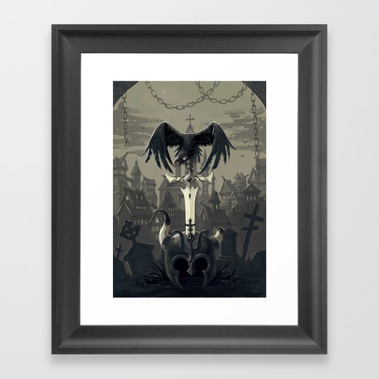 Dark Times Framed Art Print