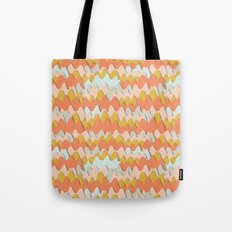 Colorful waves Tote Bag