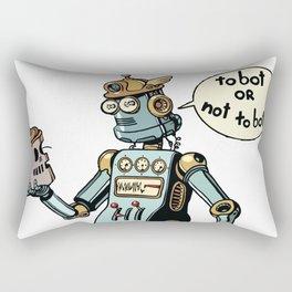 to bot or not to bot Rectangular Pillow